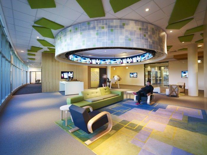 32 best activity based office images on Pinterest Bureaus - cafe design entspannter atmosphare