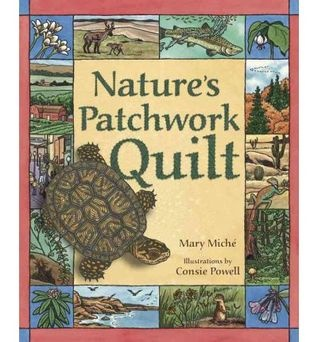 """""""Nature's Patchwork Quilt: Understanding Habitats"""" presents many different habitats and the plants and animals that live in each of them."""