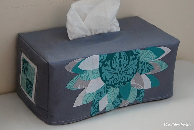 Tissue box cover #tutorial
