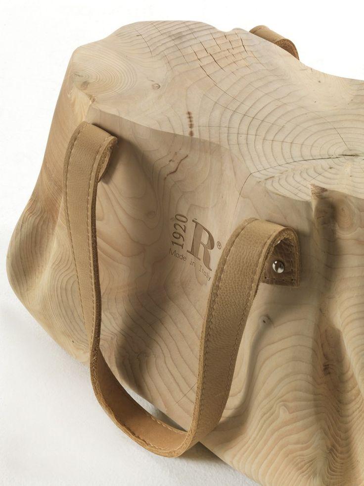 Solid wood stool MONDANA - Riva 1920