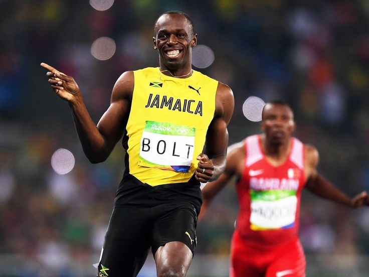 The student whose pictures with Usain Bolt have lit up the ...