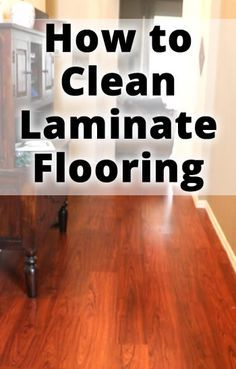 How to Clean Laminate Floors. So glad I finally found this! The best tip!