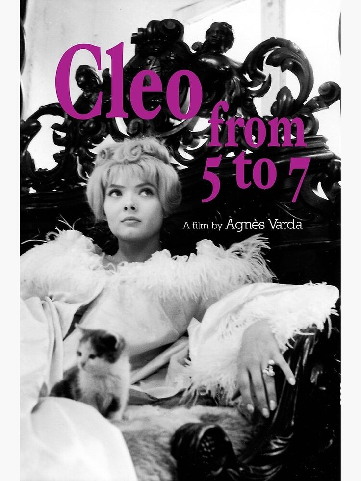 Cleo From 5 To 7 Movie Poster Art Print By Ruxness In 2021 5 To 7 Movie Movie Posters Beloved Film