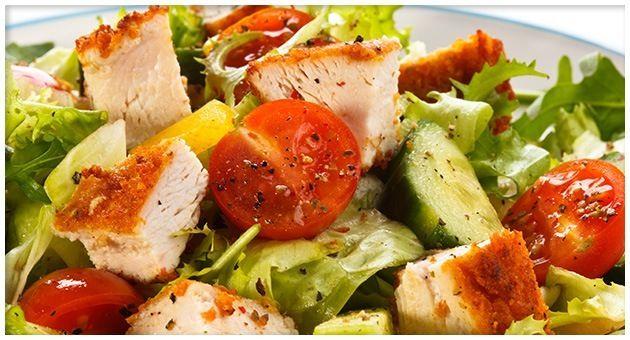 Huehnchen-Salat