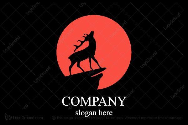 Logo for sale: Deer&moon Logo