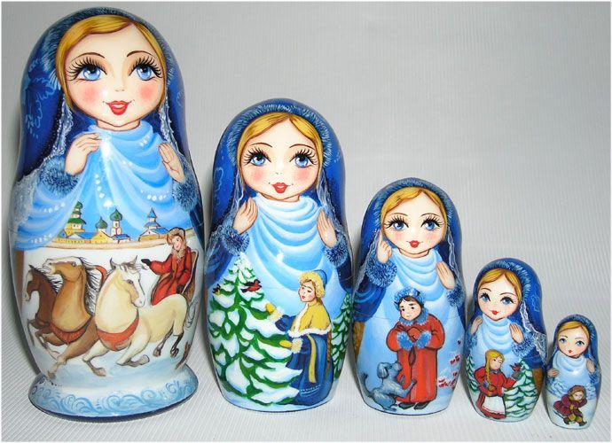 """Christmas"" Nested Doll"