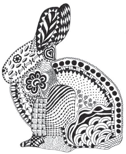 free zen animal coloring pages - photo#43