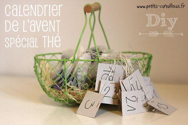 Petits canaillous | Diy – calendrier de l'avent surprises de thé | http://www.petits-canaillous.fr