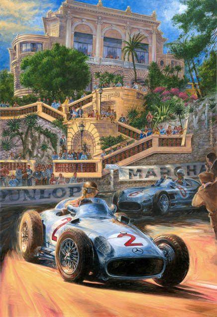 Juan Manuel Fangio-'55 Monaco