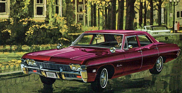 https://flic.kr/p/8AzRZ6   1968 Chevrolet Bel Air 4 door sedan