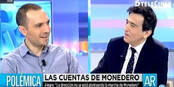 """Ana Rosa: """"Pablo Iglesias no se puede quitar del medio a Monedero porque es el billetero del partido"""" :: Periodismo :: TV :: Periodista Digital"""
