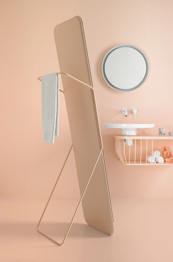 Bowl collection in #pastel #colors. #mirror #bathroom #design