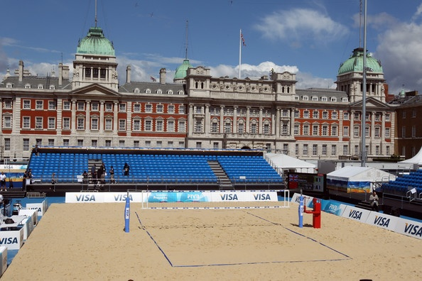LOCOG Test Events for London 2012 - VISA FIVB Beach Volleyball International