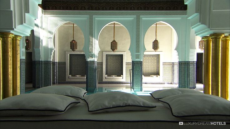 Imagine what it would be like if all the best beauty professionals and all the best treatments came together in one single space - La Mamounia, Marrakech, Marocco