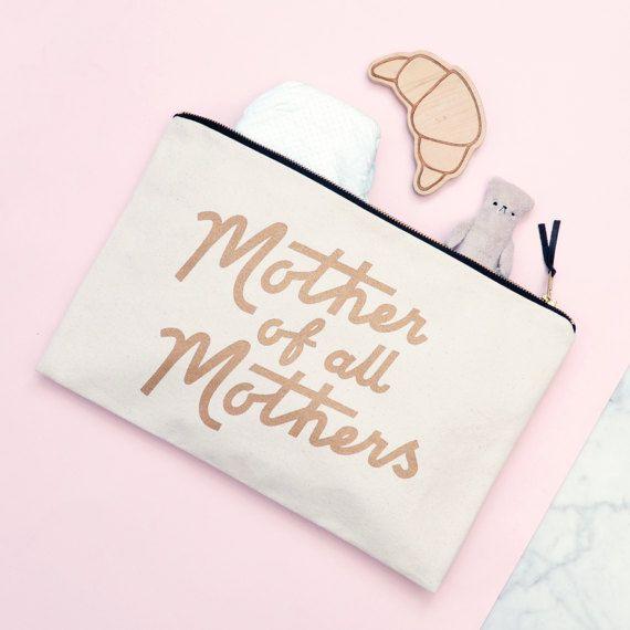 Mütter Tag Tasche  Mütter Tag Make-up Tasche  Kupplung
