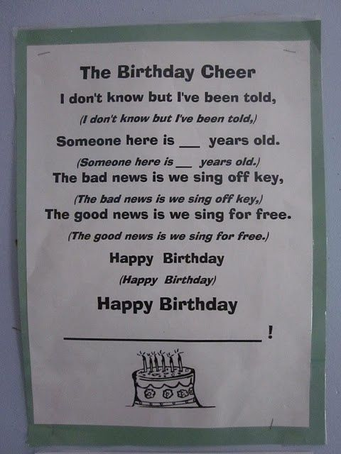 LOVE this happy birthday song! Totally teaching this to my girl scouts @ in-the-cornerin-the-corner