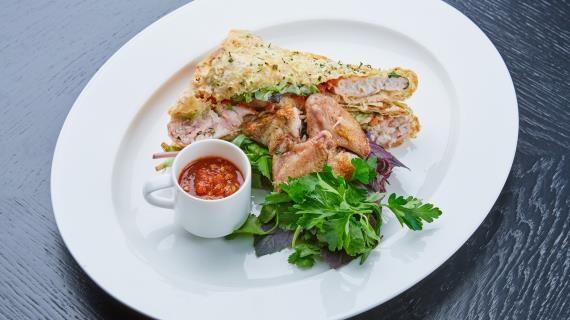 Печеный цыпленок a la шаурма. Пошаговый рецепт с фото, удобный поиск рецептов на Gastronom.ru