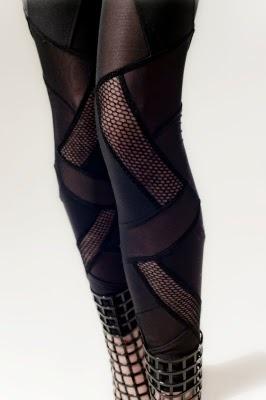 Mila Hermanovski leggings (2010): Black Leggings, Hermanovski Leggings, Clothing, Futuristic Leggings, Accessories, Wear, Clothes Styles Fashion, Mila Hermanovski