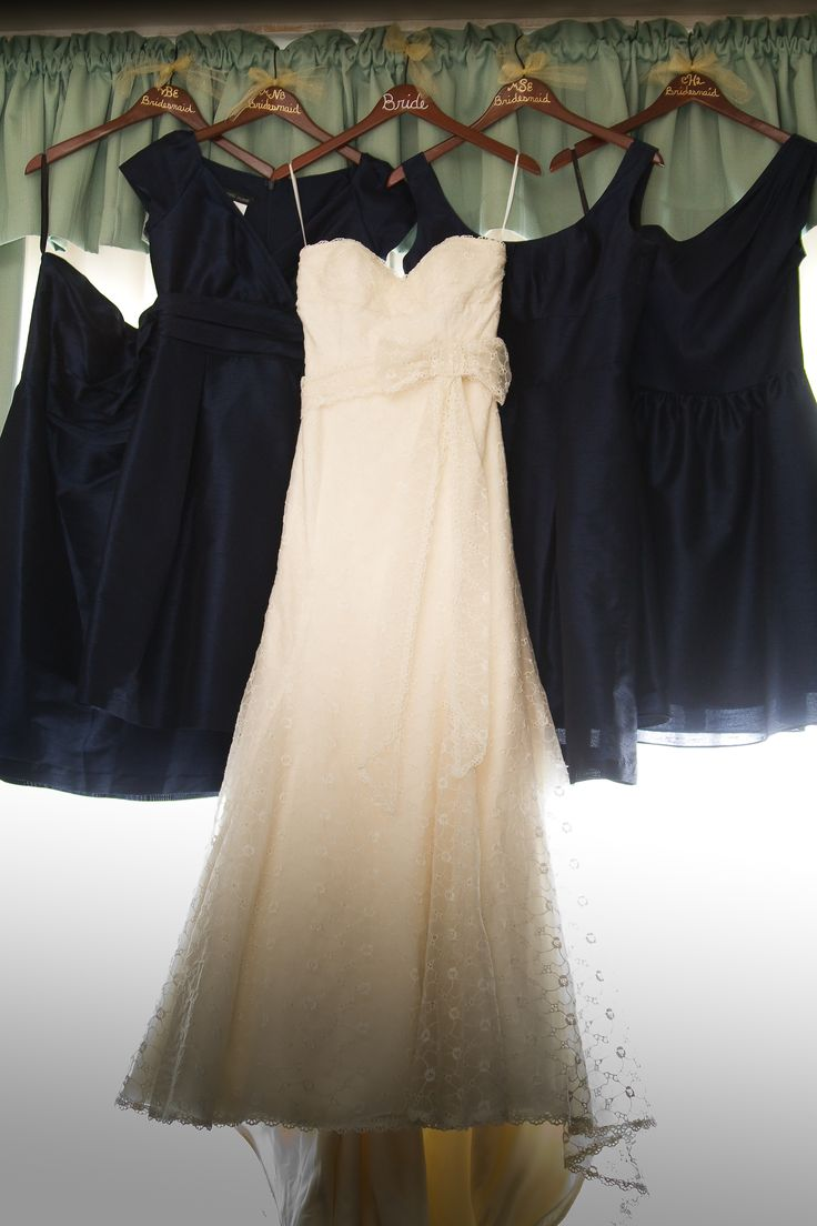 36 best 50th birthday images on pinterest 50th birthday wedding wedding dress with bridesmaids dresses bridesmaids dresses in different styles same color fabric ombrellifo Choice Image
