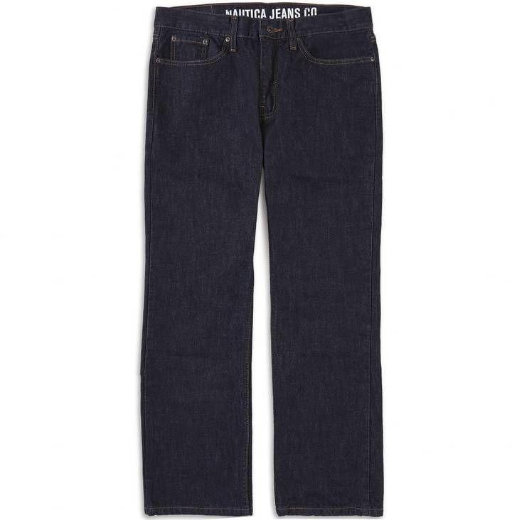 Dark Rinse Bootcut Jean