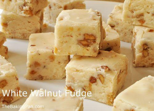 Candy Recipe | White Walnut Fudge Recipe