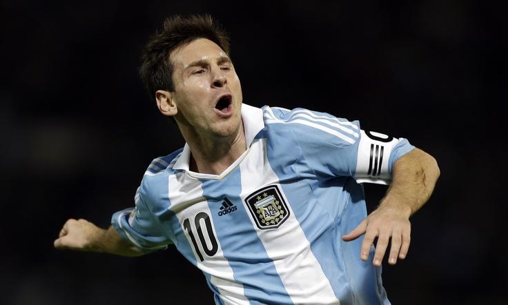 Lionel Messi alabó el poderío goleador de Falcao García