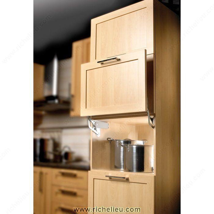 Hinged Door Lifts : Hinge for parallel lift door appliance garage