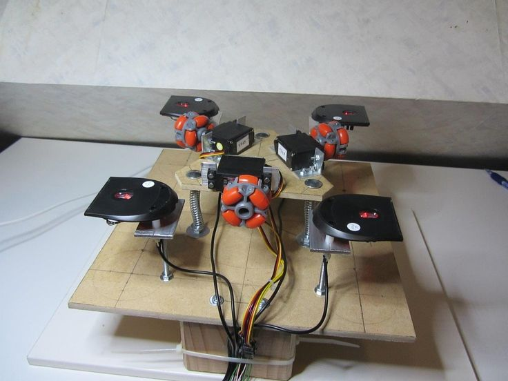 I have long dreamt building my own 3D printer on the cheap, but the idea of using linear actuators always scared me of doing so. First of all they are expensive, and secondly great care needs to be taken during construction to have good accuracy in the end due to the open loop nature of traditional implementation.  I eventually realized that moving a plane is not that hard without using any linear actuators.  You can basically take an holonomic drive system from a robot to do so. In sum, is…