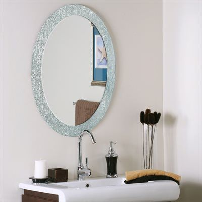 Best 25 Oval Bathroom Mirror Ideas On Pinterest Half Bath Remodel Powder Rooms And Small