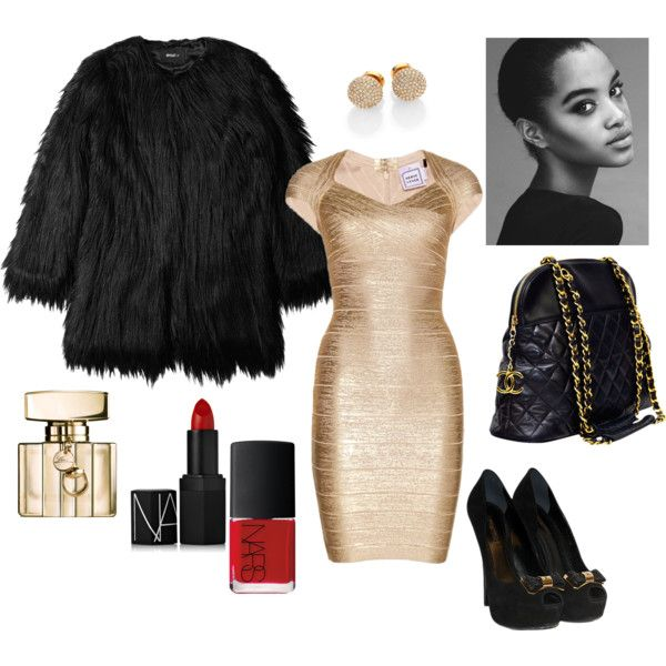 """Golden"" by sassiegirl on Polyvore"