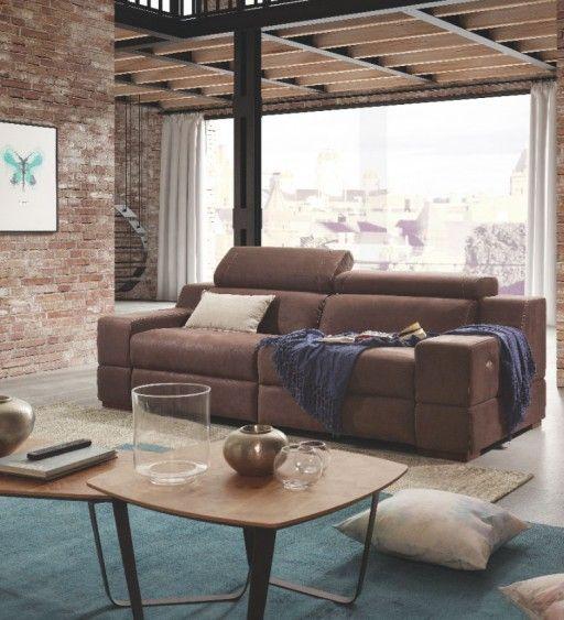 Decorar con cojines el sof sof relax davao de kibuc for Kibuc sofas