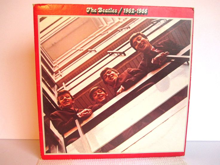 1973 - The Beatles 1962-1969 - Apple Records - Sleeve Covers with Lyrics