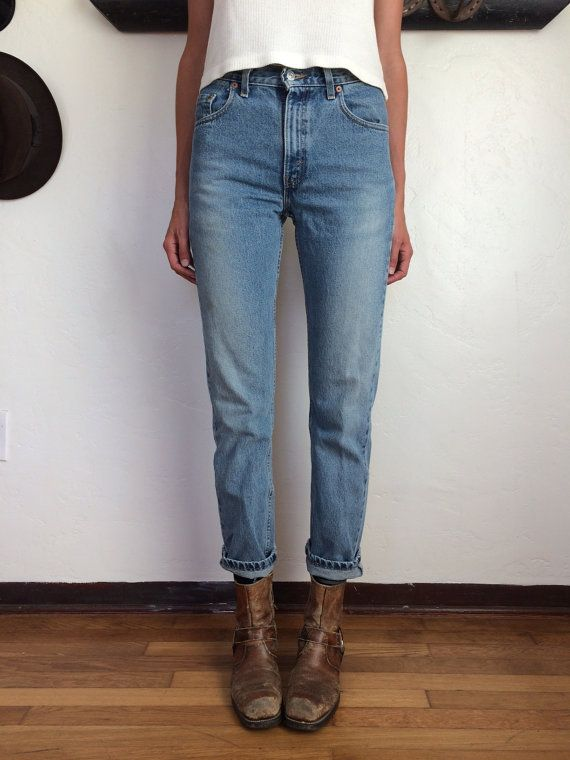 Vintage Levis 505 Boyfriend Jeans 29 by PastReferenceUS on Etsy