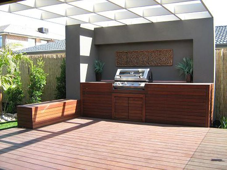 outdoor feature walls - Google Search | Outdoor bbq ... on Backyard Feature Walls  id=47047