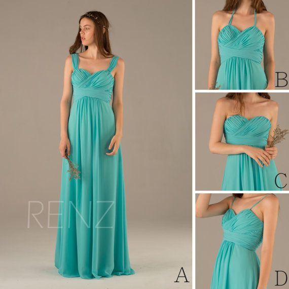 Hey, I found this really awesome Etsy listing at https://www.etsy.com/listing/239999418/2016-turquoise-bridesmaid-dress