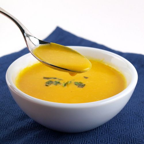 Carrot, Cardamon and Coconut Soup