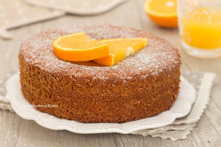 torta senza bilancia all'arancia