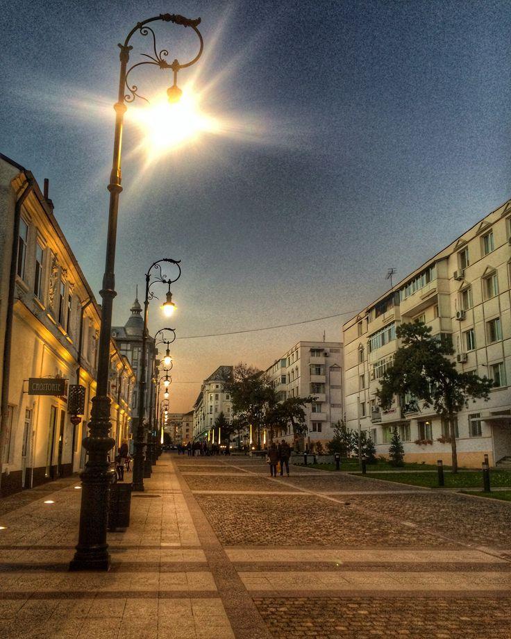 Old street of old city, Craiova❤️