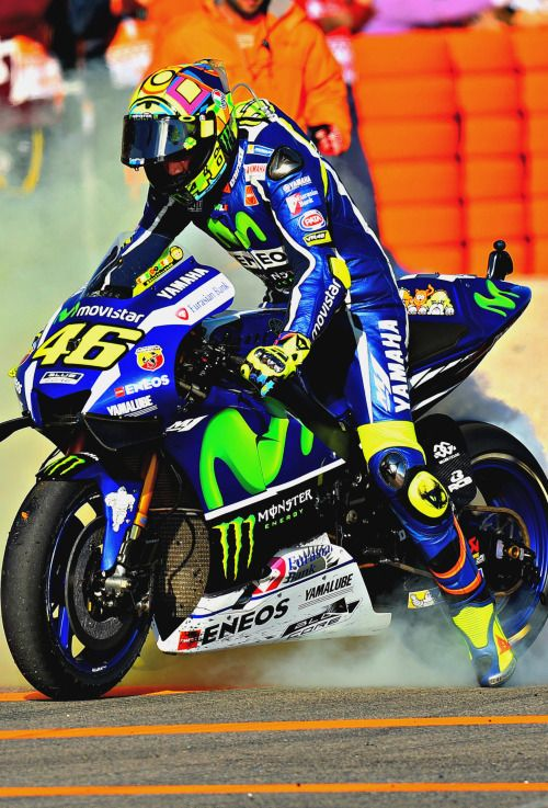 Valentino Rossi (Photo l Michelin) GP Valencia                                                                                                                                                                                 Plus