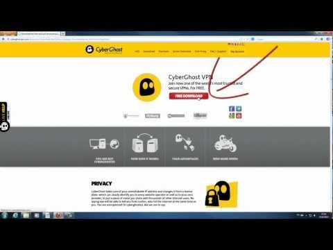 This is how to install and set up the CyberGhost VPN client on a computer running Windows 7 :)
