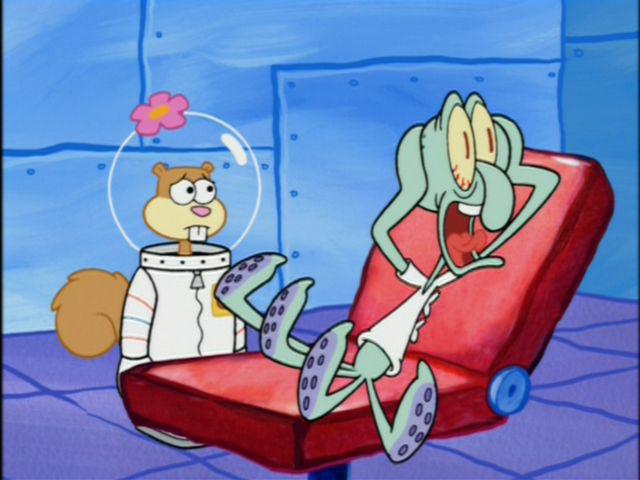 Squidward screaming | Spongebob | Pinterest