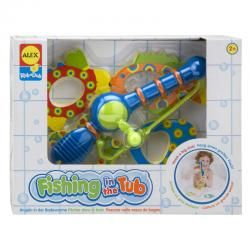 ALEX RUB-A-DUB FISHING IN THE TUB