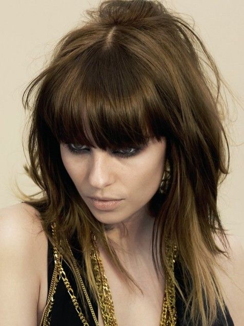 to mid length haircuts 1000 ideas about choppy hairstyles on 2123