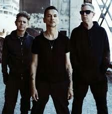 Depeche Mode /dᵻˌpɛʃˈmoʊd/ are an English electronic band that formed in 1980 in Basildon, Essex. The group's original line-up consisted of Dave Gahan, Martin Gore, Andy Fletcher, and Vince Clarke. Wikipedia