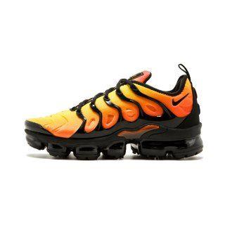 02e36b9da0835 Mens Shoes Nike Air Vapormax Plus Tn Sunset Black Total Orange 924453 006