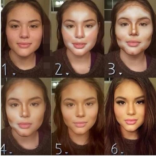 The beauty of contouring