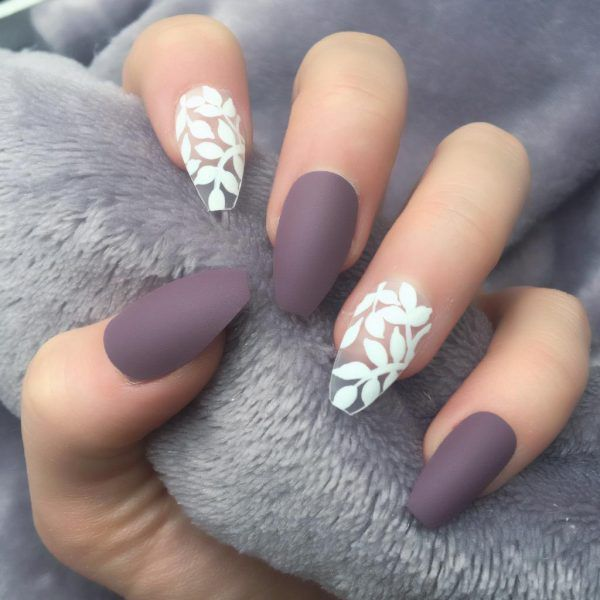 Berry Matte Delightful Coffin – Doobys Nails