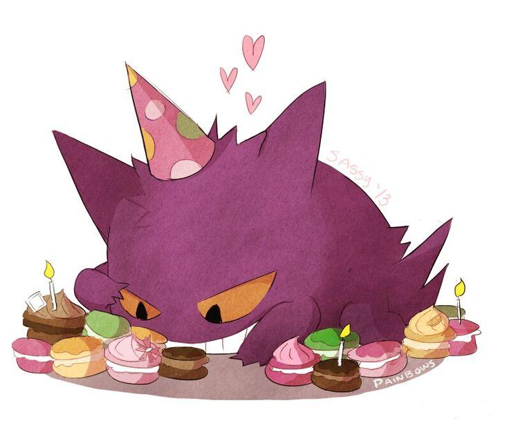 Gengar birthday! ♥