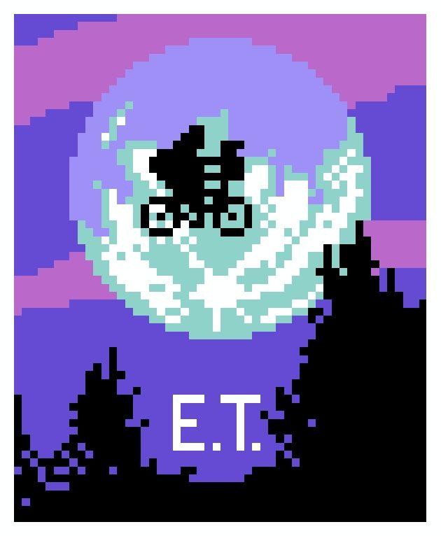 Pixel Art: 8bit 80s Movie Posters | Grafík - Album cover