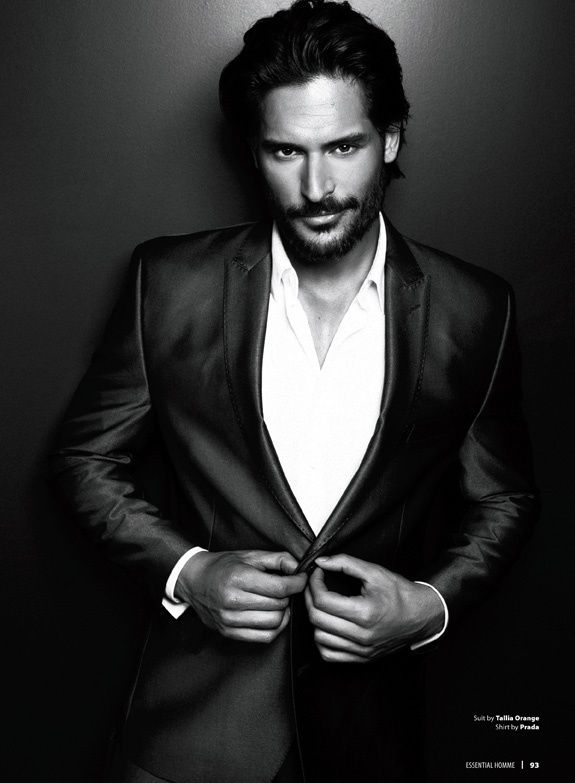 Joe Manganiello for Essential Homme magazine by Matthew Lyn. youre my fav, Joe